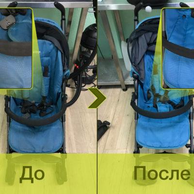 Даже незначительные, на первый взгляд, загрязнения существенно влияют на внешний вид коляски. Она становится тусклой и поношенной. StrollerSpa в буквальном смысле возвращает коляске яркие краски. Не верите? – Тогда смотрите сами!