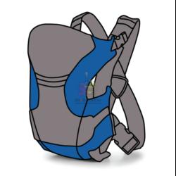 Рюкзак-переноска (Эргорюкзак)