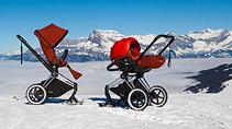 Топ 5 колясок для новорожденных для зимы 2017-2018