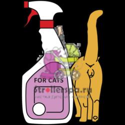 Уничтожить запах кошачьих меток и мочи