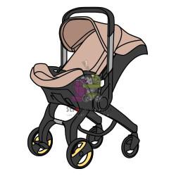 коляска-автокресло-donna