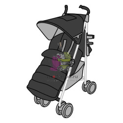 коляска-трость-макларен-для-зимы
