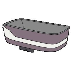 Внешняя обивка люльки для новорожденного
