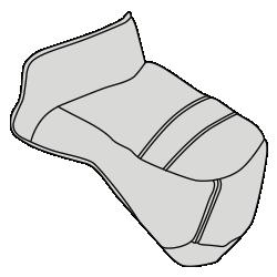 Чехол на ножки