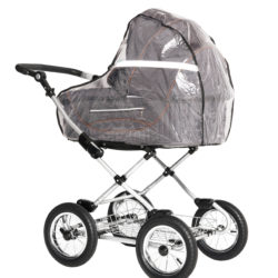 Чехол от дождя на детскую коляску-люльку