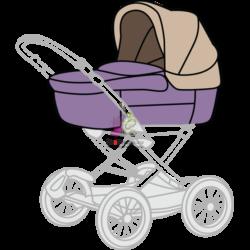 Чистка люльки для новорожденного